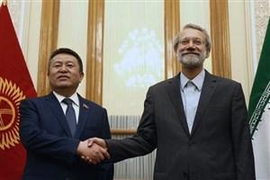 لاریجانی مطرح کرد: لزوم فعال سازی پروژه اتصال ایران به چین از طریق قرقیزستان