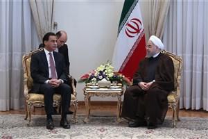 رئیس جمهوری:  باید از همه ظرفیتها برای توسعه و تحکیم روابط ایران و پاکستان استفاده کنیم