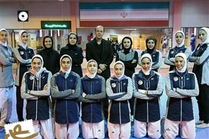 بازدید اصغر رحیمی از تمرینات تیمملی تکواندو