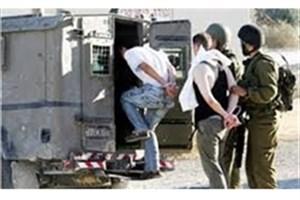 بازداشت 12 فلسطینی در جریان حمله اسرائیل به کرانه باختری