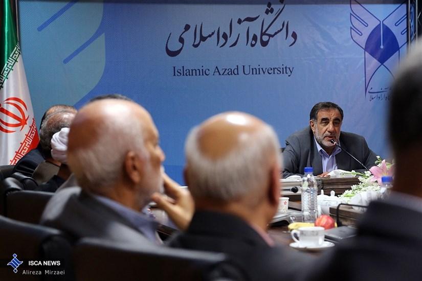 اولین دیدار و جلسه دکتر علی محمد نوریان با معاونین و مدیران کل دانشگاه آزاد اسلامی