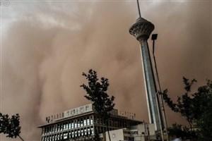 ۶۰ حادثه در توفان  عصر امروز تهران رخ داد