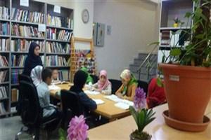 خوانش گروهی کتاب در کتابخانه آیت الله کاشانی (ره)