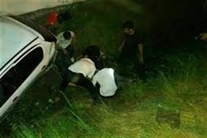 کشته شدن یک  زوج بر اثر سقوط در رودخانه