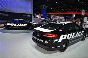 رونمایی فورداز نخستین خودروی هیبریدی مخصوص نیروهای پلیس