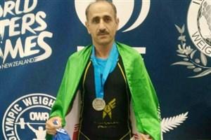 دانشجوی واحد رودان نایب قهرمان وزنه برداری المپیک پیشکسوتان نیوزلند شد