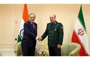 تاکید وزرای دفاع ایران و هند بر مبارزه با تروریسم