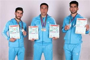 کسب مدال دانشجویان واحد کنگاور در مسابقات رزمی کشور آذربایجان