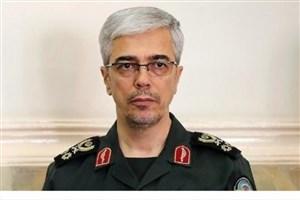 سرلشکر باقری پیام رهبر انقلاب را به بشار اسد تسلیم کرد