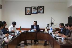 تجلیل رئیس واحد کرمان از  اعضای تیم رباتیک