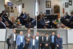 اعضای کمیسیون آموزش مجلس از دانشگاه آزاد اسلامی  بندر انزلی بازدید کردند