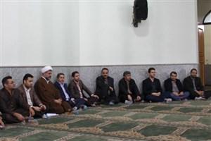 مراسم مبعث حضرت محمد  (ص) در دانشگاه آزاد اسلامی جویبار برگزار شد