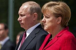 پوتین: با صدراعظم آلمان درباره برجام صحبت کردیم/ مرکل: ضروری است درباره برنامه موشکی ایران مذاکره کنیم