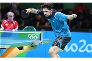 جدال ورزشکار دانشگاه آزاد اسلامی  با حریف روسی برای صعود به یک چهارمنهایی تور جهانی تنیس روی میز