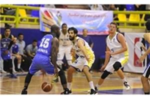 تیم بسکتبال دانشگاه آزاد اسلامی  در آستانه صعود به نیمه نهایی