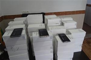 کشف محموله  تلفن همراه قاچاق به ارزش 7 میلیاد ریال در کردستان