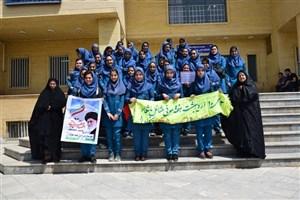 بازدید دانش آموزان از دانشگاه آزاد اسلامی خوی