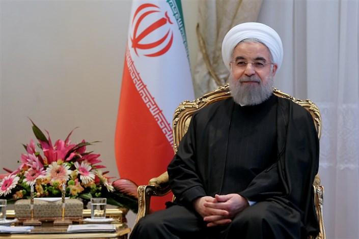 پیام تبریک رئیس جمهوری روحانی