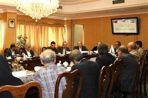 دیدار اعضای هیات علمی دانشگاه آنکارا با مسئولان دانشگاه تهران
