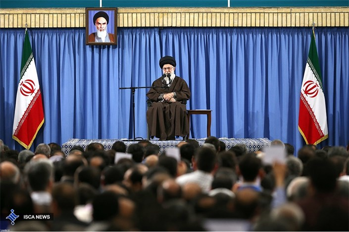 رهبر معظم انقلاب: اگر مردم در صحنه حضور داشته باشند، کشور در امنیت خواهد بود