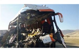 یک کشته و 5 مصدوم در اثر واژگونی اتوبوس در شاهین شهر