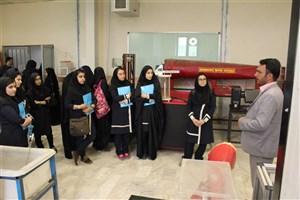 بازدید دانش آموزان از دانشگاه آزاد اسلامی تهران شرق