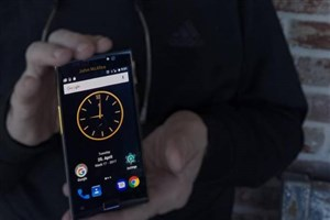 جان مکافی از نسخه اولیه امن ترین گوشی هوشمند جهان رونمایی کرد