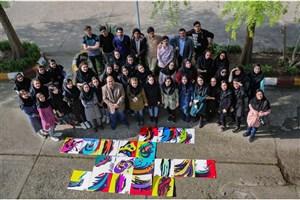 برگزاری کارگاه اموزشی به مناسبت روز جهانی گرافیک در واحد لاهیجان
