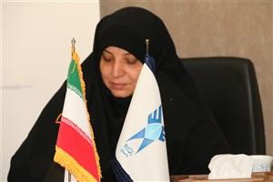 پیام تبریک دکتر معصومه طباطبایی به دکتر علی محمد نوریان سرپرست دانشگاه آزاد اسلامی