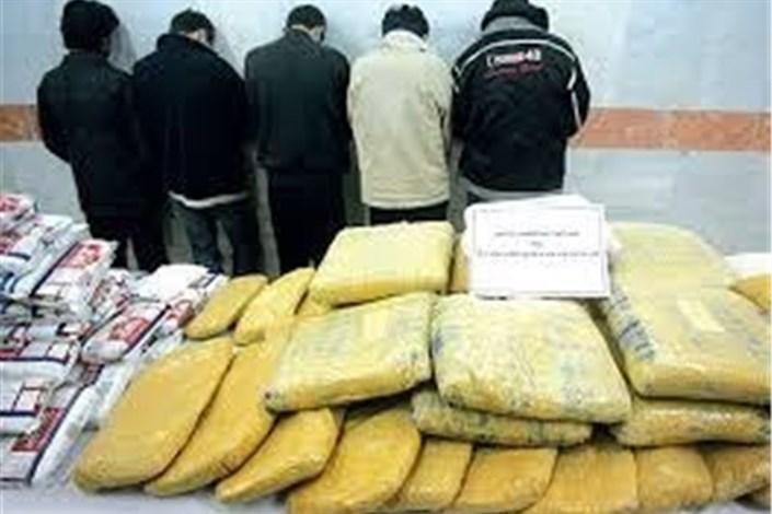 کشف بزرگترین محموله قاچاق مواد مخدر در ایلام