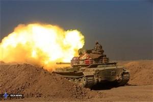 پیشروی ارتش عراق به سمت مواضع داعش در موصل از سمت شمال غرب