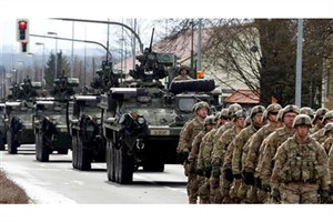 ورود ۶۲ کامیون نظامی آمریکایی به خاک سوریه