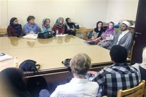 دیدار دانشجویان هلندی با دانشجویان دانشگاه تهران