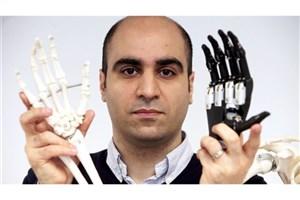 محققان ایرانی دست مصنوعی دوربین دار ساختند
