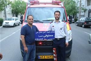 یکی از خیابان های منطقه 13 به نام آتش نشان شهید حادثه پلاسکونامگذاری شد