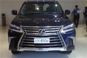 لکسوس LX 450d وارد بازار هند شد