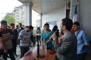 برگزاری تریبون آزاد با موضوع انتخابات در واحد بندر انزلی