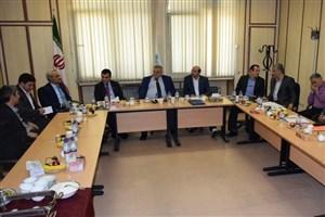 بازدید رئیس دانشگاه قبرس از دانشکده کارآفرینی دانشگاه تهران