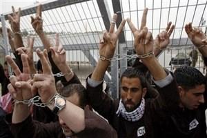 انتقال اسرای اعتصاب کننده فلسطینی به سلول محکومان جنایی
