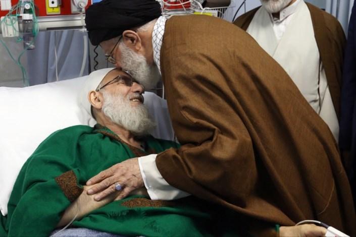 رهبر معظم انقلاب اسلامی از آیت الله هاشمی شاهرودی