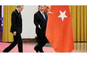 دیدار رهبران چین و ترکیه در پکن