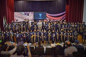 جشن دانشآموختگی 100 فارغالتحصیل واحد بوشهر برگزار شد