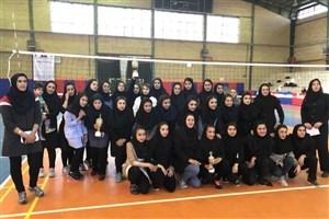 تیم دختران دانشگاه آزاد اسلامی بروجرد قهرمان مسابقات والیبال استان لرستان شدند