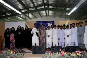 جشن فارغ التحصیلی دانش آموختگان در واحد خاش