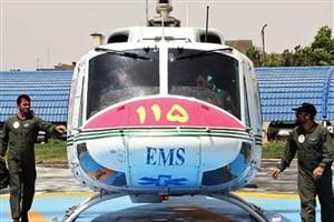نجات جان پسر 4 ساله با اورژانس هوایی