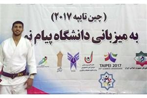 کسب سهمیه تیم ملی دانشجویان توسط عضو تیم جودوی واحد تبریز