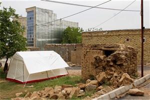 اسکان اضطراری 8000نفر از زلزلهزدگان خراسان شمالی
