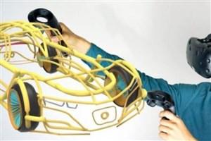 با حرکت دستتان سه بعدی طراحی کنید!