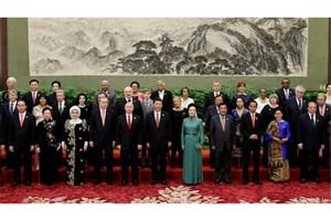 """نمایندگان ۱۰۰ کشور جهان در کنفرانس """"راه جدید ابریشم"""" در چین"""