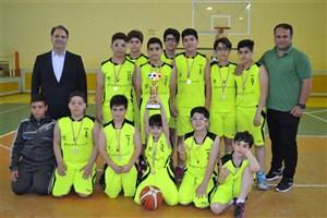 راهیابی تیم بسکتبال سما واحد رشت به مسابقات کشوری